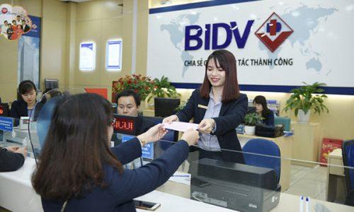 Vay tiền tại BIDV; tối đa 500 triệu, 5 năm; lãi từ 1.5%